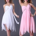 Gorgeous Lady Ruffles Formal Party Gown Pegeant Prom Evening Ball Short Dresses