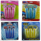 Bubbles Tubes Batman Spiderman Minnie & Mickey Mouse Planes Thomas Toy Story