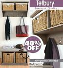 TETBURY Acacia Bench and Hanging shelf, QUALITY Hallway storage bench, coat rack