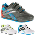 BOYS SHOES KIDS INFANT VELCRO SKATE TRAINERS BACK TO SCHOOL GIRLS SHOES SIZE 8-2