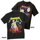 METALLICA T-Shirt Justice For All New Authentic Rock Metal Tee S-3XL image
