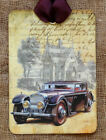 Hang Tags VINTAGE CAR VICTORIAN HOUSE TAGS or MAGNET #371 Gift Tags