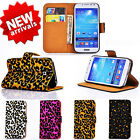 Newest Deluxe Leopard Print Wallet Flip Card Glitter Case Cover For SAMSUNG