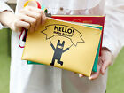 Nemo Pouch L - Flat Zipper Cosmetic Case Makeup Bag Travel Organizer - DesignSkt