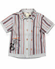 Deux par Deux Baby Boy's Striped Shirt Scoop, Size 6M