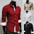 New 2014 Collection Mens Luxury Fashion Formal Casual Suits Slim Fit Dress Shirt