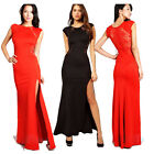 Womens Vintage Rockabilly Pinup Bodycon Fitted Party Pencil Shift Sheath Dress
