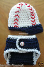 NAVY BASEBALL HAT w/ D.COVER PHOTO PROP SHOWER GIFT, Custom Order Colors