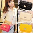 Womens Womans Ladies envelope clutch bag with chain evening shoulder handbag New