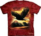 Eagle T-Shirt by The Mountain. Soaring Bird Flight Bald Eagle Sizes S-5XL NEW