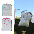 JVL Showerproof Pink Blue Purple Peg Bag with Double Hook