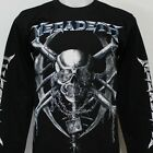 MEGADETH Long Sleeve T-Shirt 100% Cotton New Size S M L XL 2XL 3XL