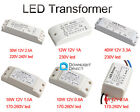 1x LED Power Supply Driver 6/10/12/18/30/40W DC 12V Light Electronic Transformer