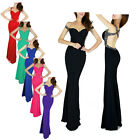 Low-cut New Formal Long Evening Ball Gowns Party Prom Bridesmaid Dress Size 6-20