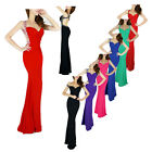 New Sexy Evening Bridesmaid Dress Party Formal Prom Dresses Ball Gown Size 2~16