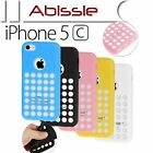 Durable case cover with holes for Apple iPhone 5C