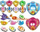 Baby Children Infant Inflatable Swimming Trainer Seat Float Multi Designs