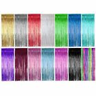 Shimmer Door Curtains & Fringe Garlands - Various Colours and Packs / Curtain