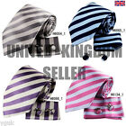 YAC2A08 Classic Stripe Silk Tie Various of Colours Fantastic Gift 3PT By Y&G