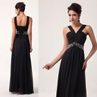 VINTAGE SALE   Long Formal Evening Ball Gown Party Prom Bridesmaid Dress Wedding