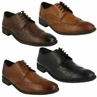 CHART LIMIT- MENS CLARKS CLASSIC STYLE LACE UP SMART FORMAL BROGUE SHOES FIT G