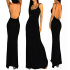 Womens Long Bodycon Party Dress Formal Gown Ball Cocktail Evening Prom Club Wear