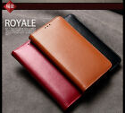 Genuine Real Leather Calf Skin Wallet Flip Case Cover for Samsung Galaxy S5