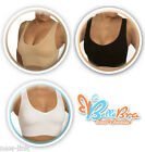 La belle Seamless Bras, in 2 ply with pads, pack of six colors Black White Nude