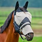 Horse Pony Fly Mask With Ear and Nose Protection / All Sizes