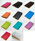 NEW MULTI COLOR PASSPORT HOLDER COVER WALLET CASE TRAVEL BAG LEATHER ARTIFICIAL