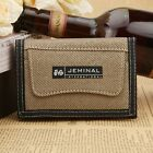 Sports Boys Checkbook Clutch Change Coin Bag Cool Three Fold Men's Purse Wallet