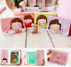 New Korean Girl Lovely Business ID Credit Card Wallet Holder Pocket Bag Case