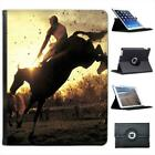 Steeplechase Racing Horses Folio Wallet Leather Case For iPad 2, 3 & 4