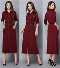 Sexy Women's Long Sleeve Casual Casual Summer Cocktail Party Short Slim Dress