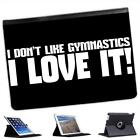 I Don't Like Gymnastics... I Love It! Folio Leather Case For iPad Air & Air 2