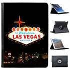 Welcome To Las Vegas Folio Wallet Leather Case For iPad Air & Air 2