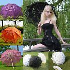 """30""""/25"""" Multi-colors Lace Parasol/Umbrella for Wedding/Cosplay/Photo Accessories"""
