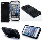 Black HEAVY DUTY TOUGH SHOCKPROOF WITH STAND HARD CASE COVER FOR iPhone5C TZJK