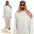 Adult Arab Costume Shiek Sultan Osama Bin Ladden Fancy Dress Outfit