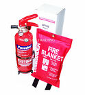 1KG DRY POWDER ABC FIRE EXTINGUISHER HOME OFFICE CAR