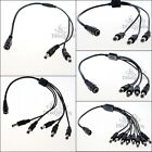 1-10PCS DC 40cm Power 5.5x2.1mm CCTV Secuirty Camera Splitter Cable Connect Wire