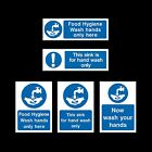 Now wash your Hands / Sink / Food Hygiene - Sign, Sticker - All Sizes & Material