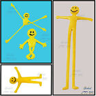 New Smiley Stretchy Smile Men Childrens Party Loot Bag Gift Toys Fillers Yellow