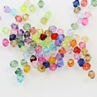 Wholesale! Plastic 6mm Acrylic Bicone Beads, U Pick Color DIY Jewelry