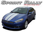 Racing Rally Stripe Hood Roof Rear Decal Vinyl Graphic RT SX 13-2016 Dodge Dart $127.49 USD on eBay