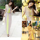 korean Sexy Women Holiday Summer  Long Maxi Evening Party Dress Beach Dresses