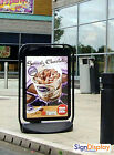 Swinger 4000 Poster Pavement Board  A Board  Shop Swing Kerb Sign Advertising Ad