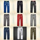 HOLLISTER MEN`S SWEATPANTS CLASSIC STRAIGHT FIT NWT SIZES XS, S, M, L, XL