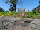 "PINK MAYFAIR ""OPEN ROSE"" 4 1 2"", 3 OZ WINE GOBLET(S) HOCKING DEPRESSION 1931-37"