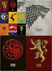 Game Of Thrones Canvas Prints High Quality Sigil Poster House Emblems Art Gift